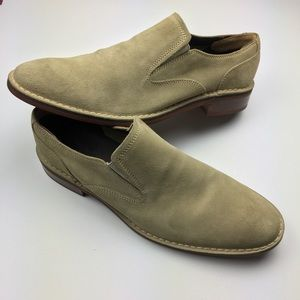 Cole Haan Canton 2 Gore II Slip On Suede Loafers
